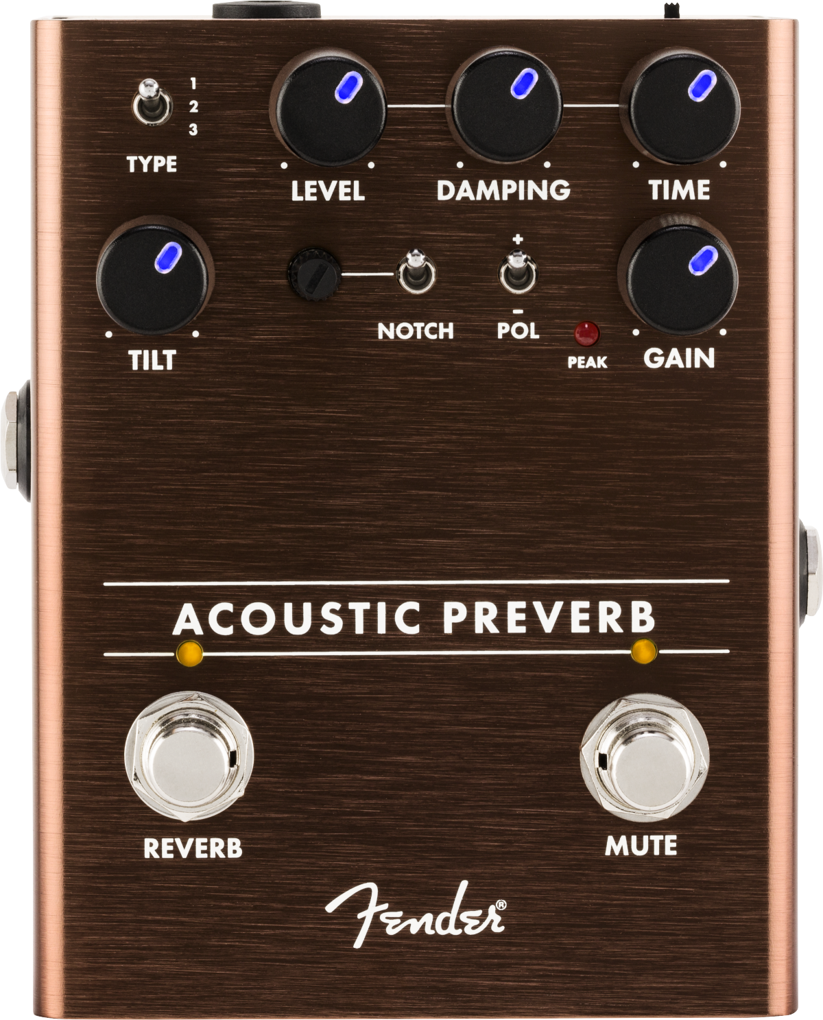 Fender Acoustic Preamp Reverb Pedal