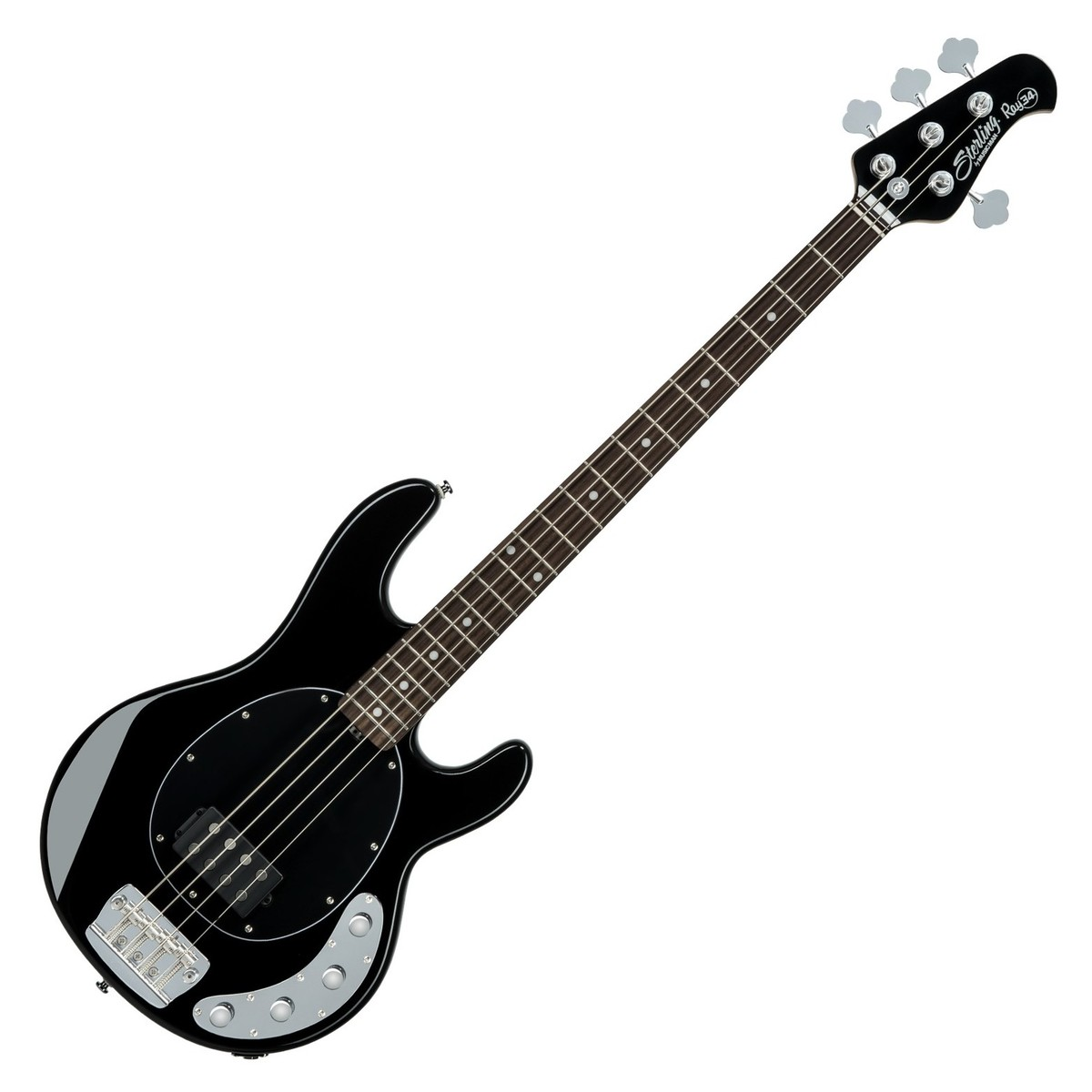 Sterling by Music Man StingRay34 Bass, Black